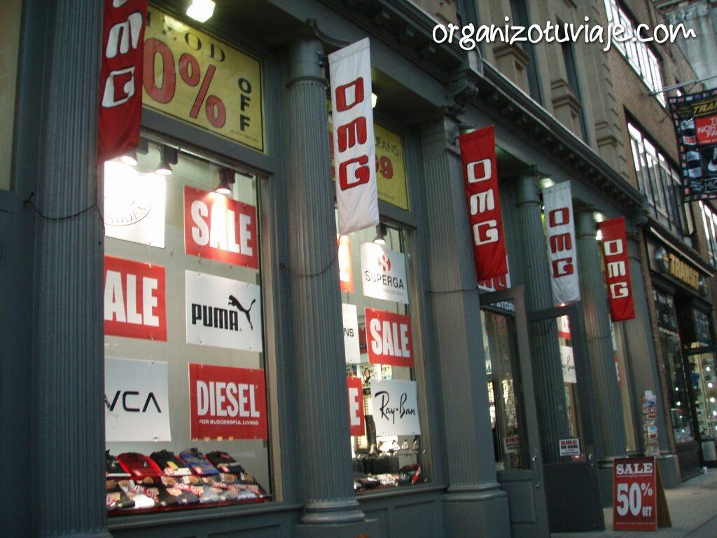 Comprar barato en Nueva York