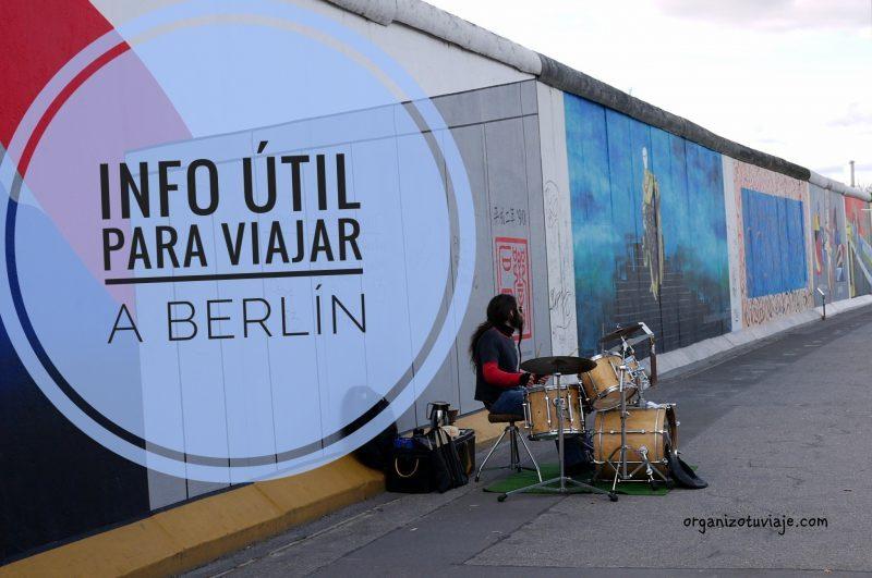 Info útil para viajar a Berlín