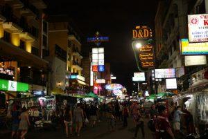 Compras en Bangkok. Centros comerciales y mercados nocturnos