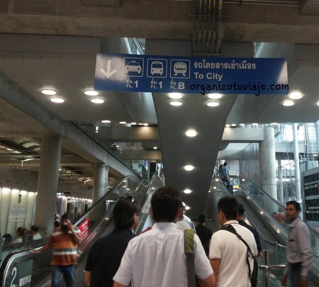 COMO MOVERSE por BANGKOK y traslados desde el aeropuerto