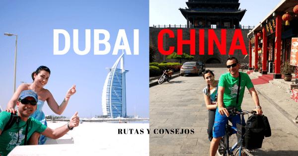 Viajar a China con escala en Dubai