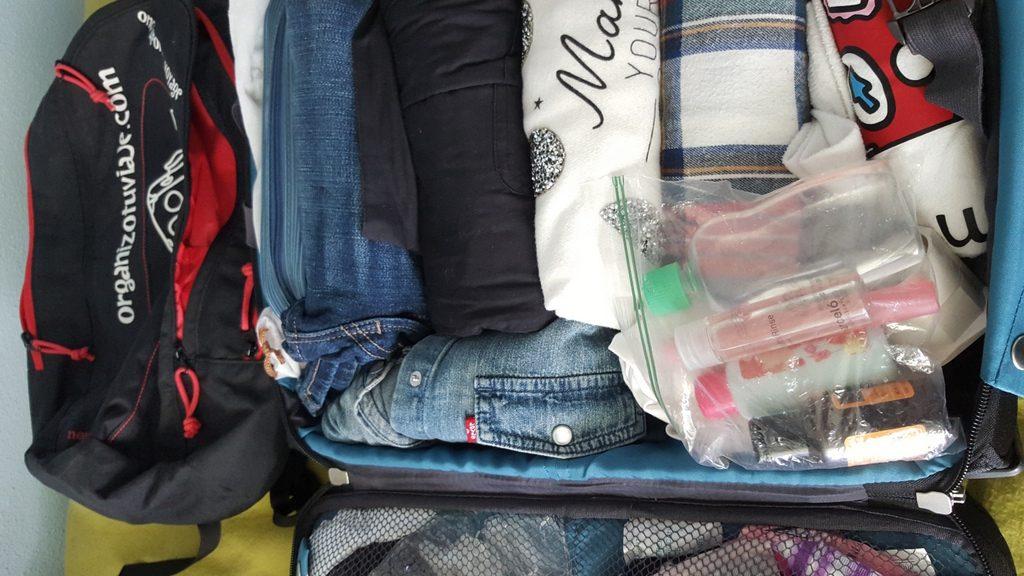 maleta para viajar a Irlanda