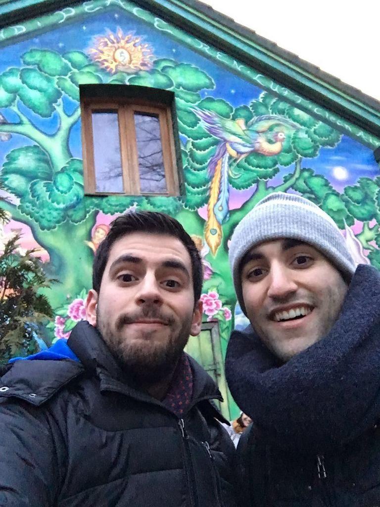 Entrada de Christiania.