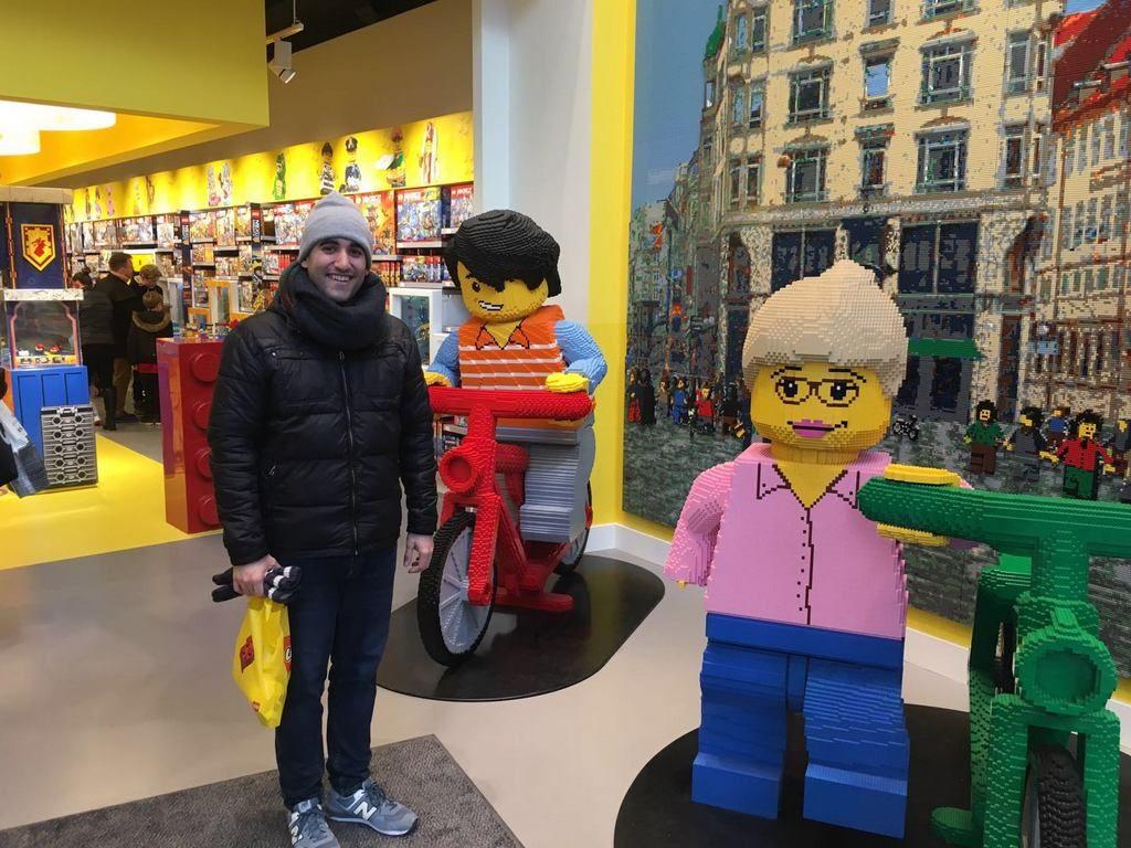Tienda oficial de LEGO en Strøget,1160, Copenhague