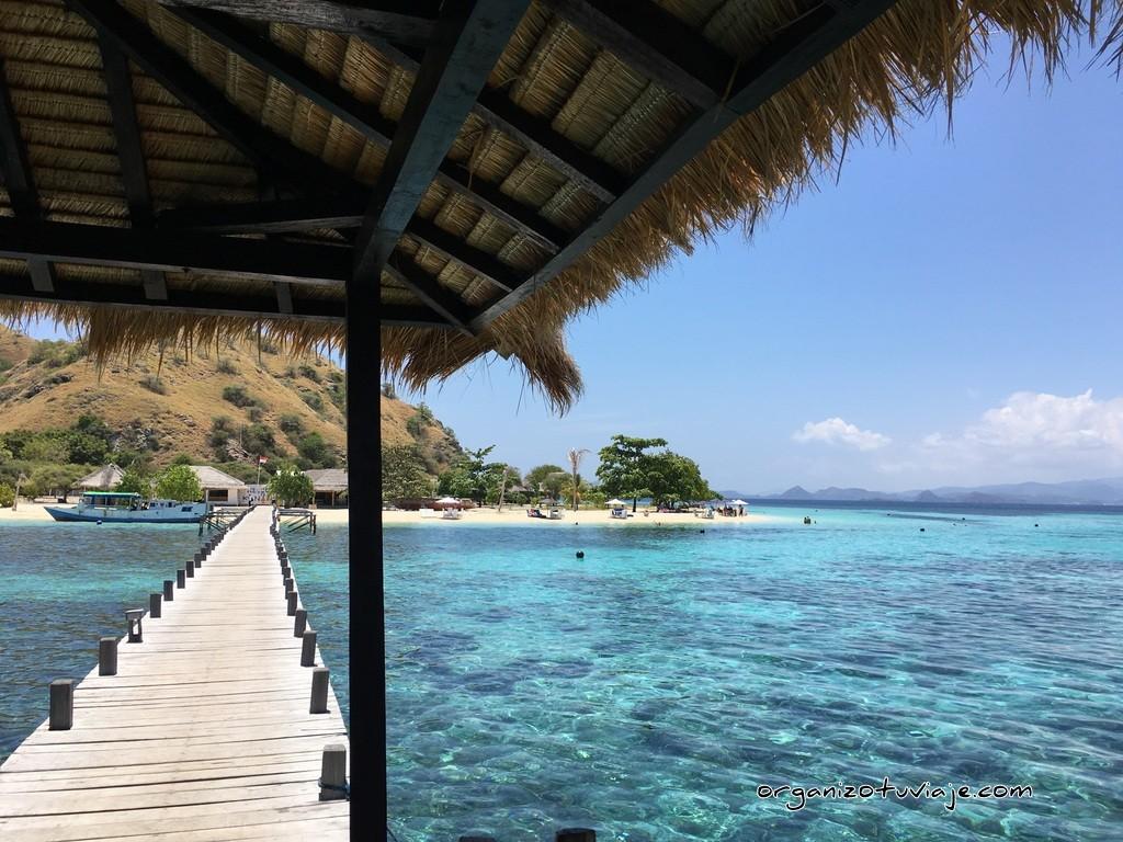 Kanawa Island en las islas de Flores, en Indonesia