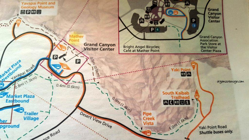 Rutas para recorrer el Gran Cañón