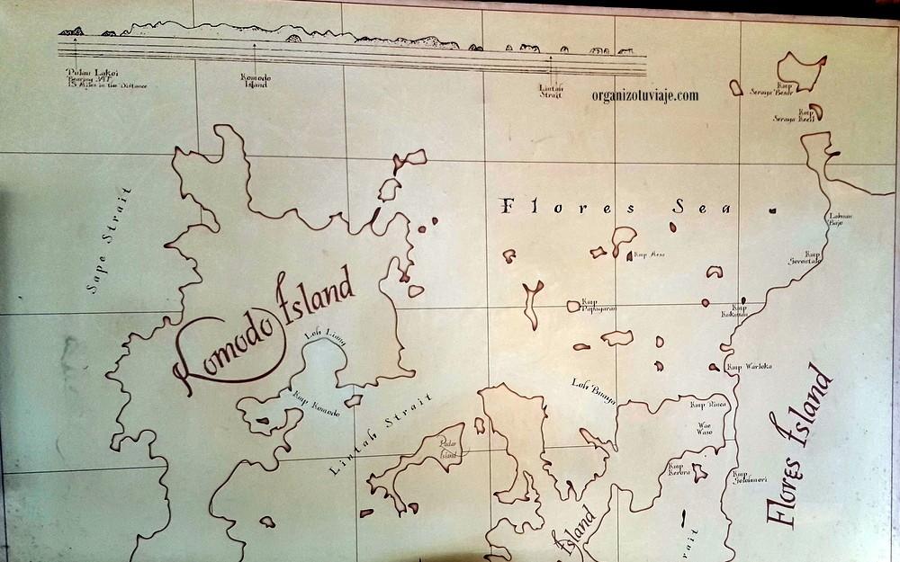 komodo e islas de Flores en Indonesia