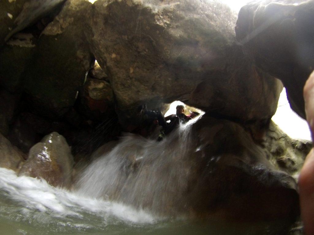 barranquismo en Sierra de Guara