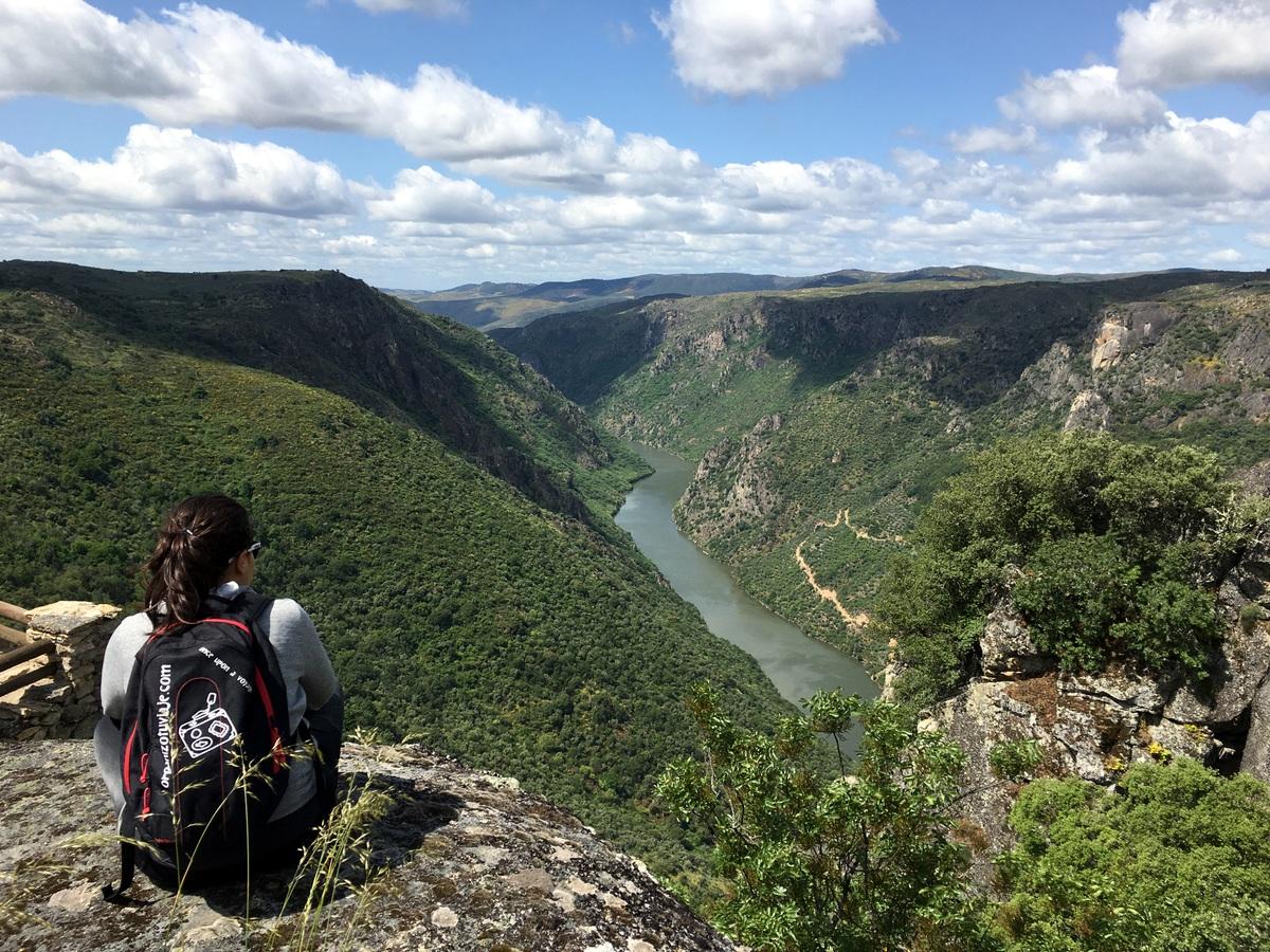 Mieza de la Ribera, los mejores miradores de las Arribes del Duero