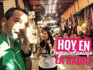OrganizoTuViaje en la radio