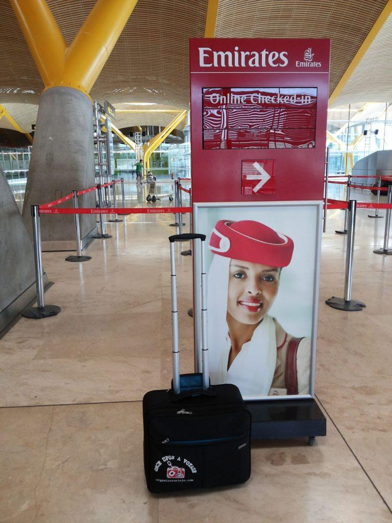 Volar con Emirates