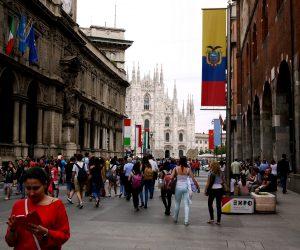 Milán.El Duomo. Organizotuviaje.com.