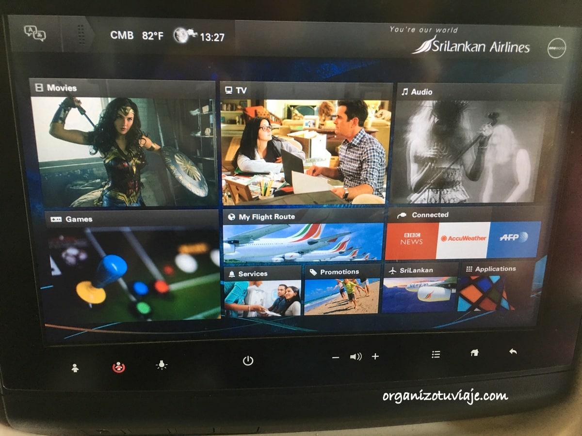 Volar con Srilankan Airlines
