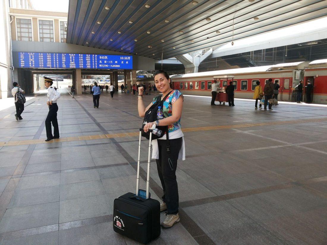 Viajar en tren en China