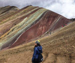 montaña colores Peru