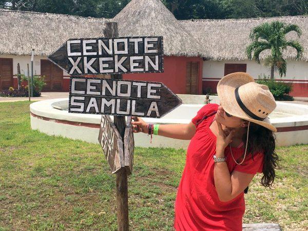 ruta por lo mejores cenotes de México