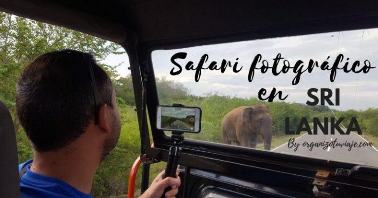 Safari fotográfico en Sri Lanka by organizotuviaje.com