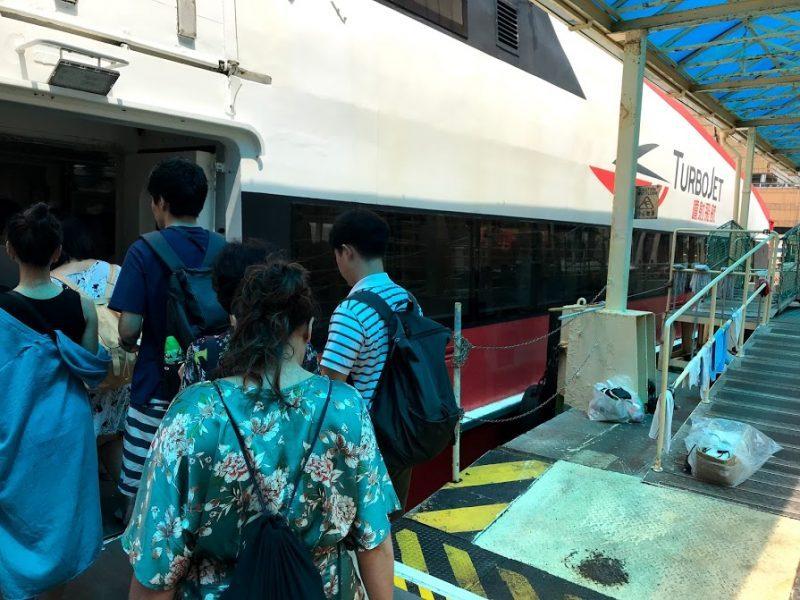 como llegar a Macao desde Hong Kong