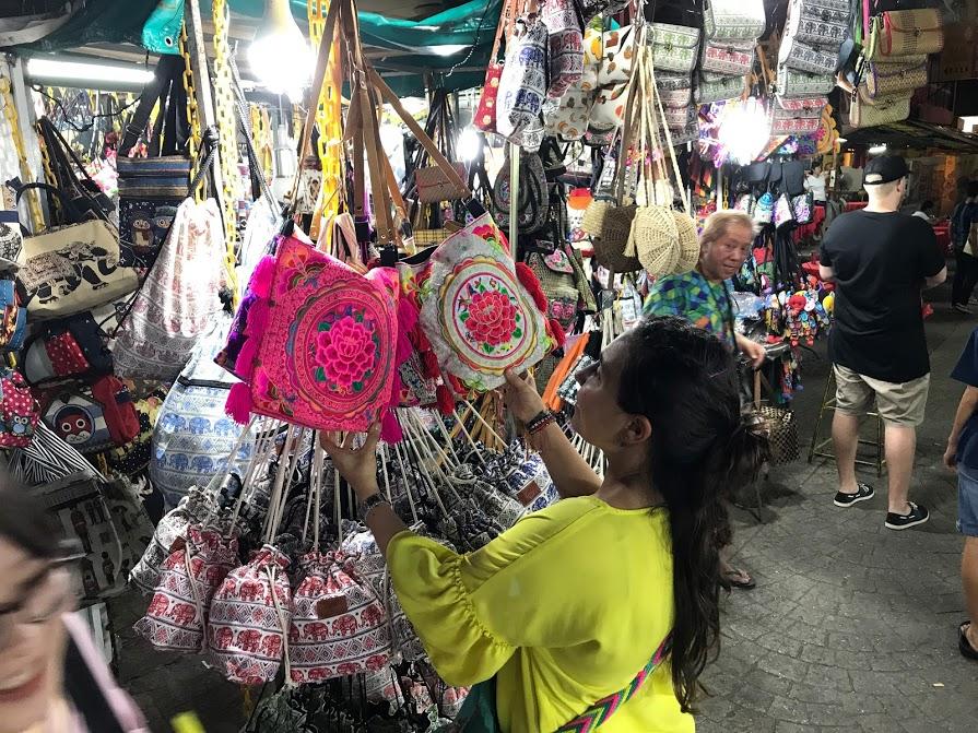 De compras por Hong Kong