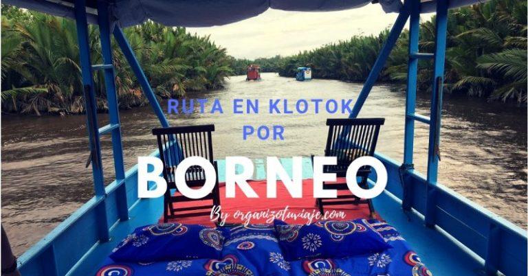 Ruta en klotok por Borneo INDONESIA