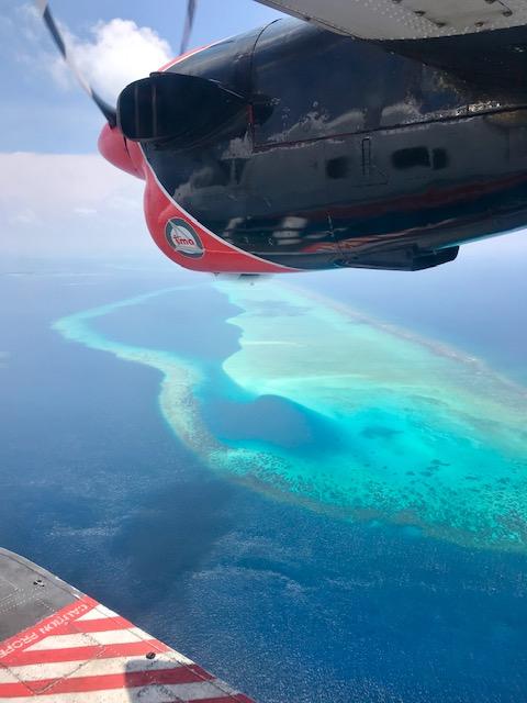 Alojarte en un resort en Maldivas