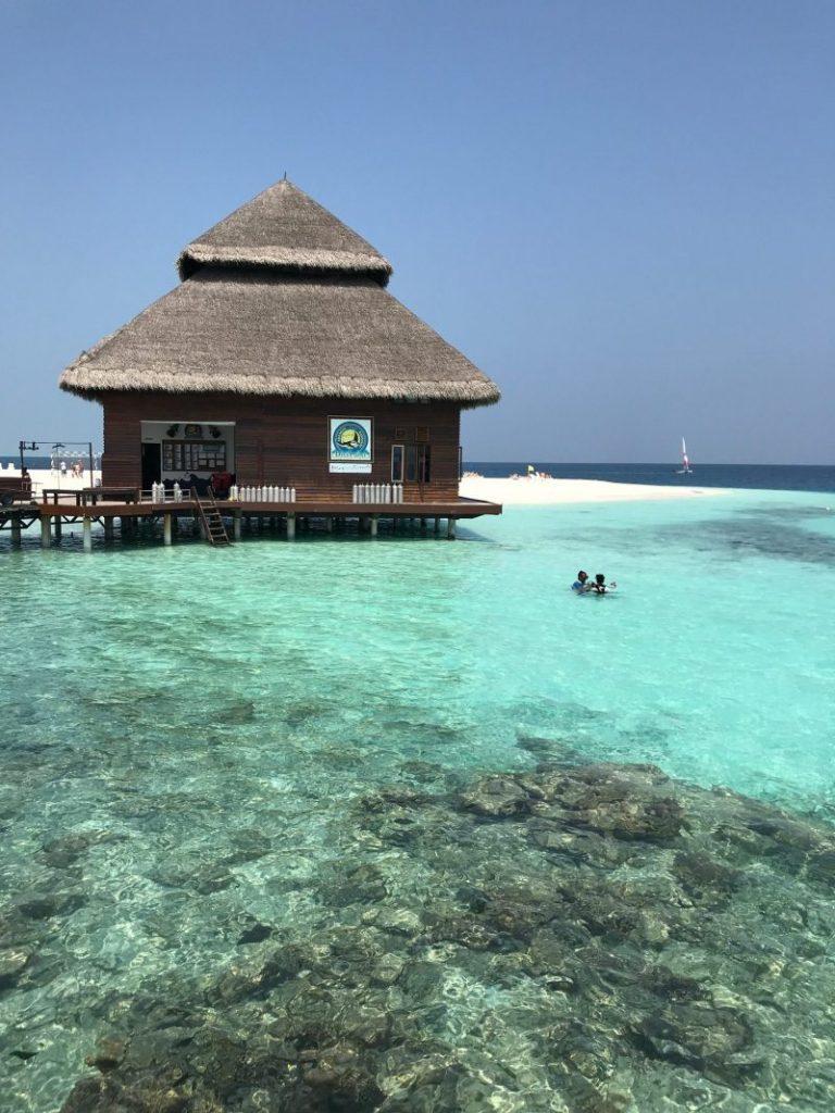 Hacer snorkel en una isla paradisíaca