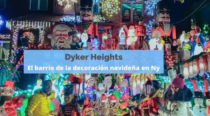 Dyker Heights, el barrio de las luces de Navidad en Nueva York