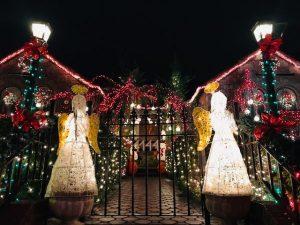 Dyker Heights en Navidad.