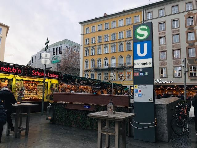 Mercados navideños en Munich
