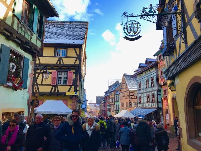 Los mejores mercados navideños de Alsacia francesa 🧡