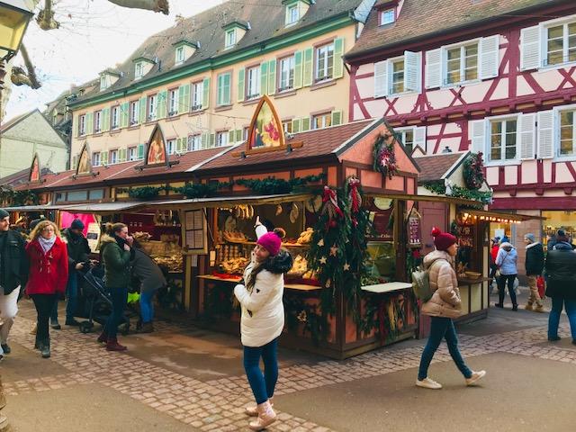 Los mercados de Navidad de Colmar en Alsacia (Francia)