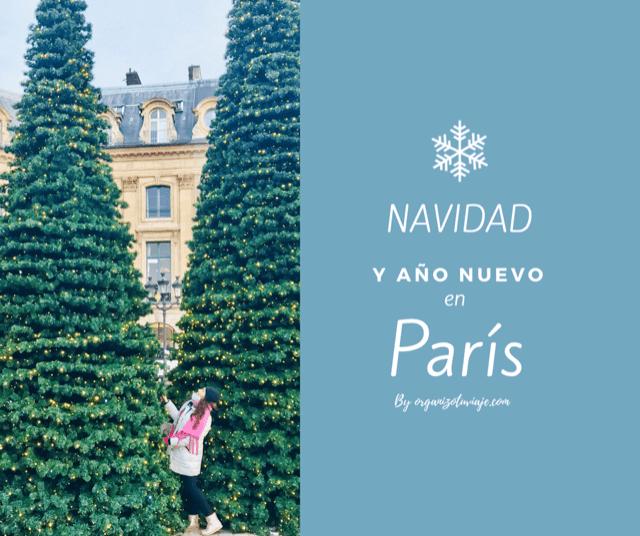 Navidad y año nuevo en Paris by organizotuviaje.com