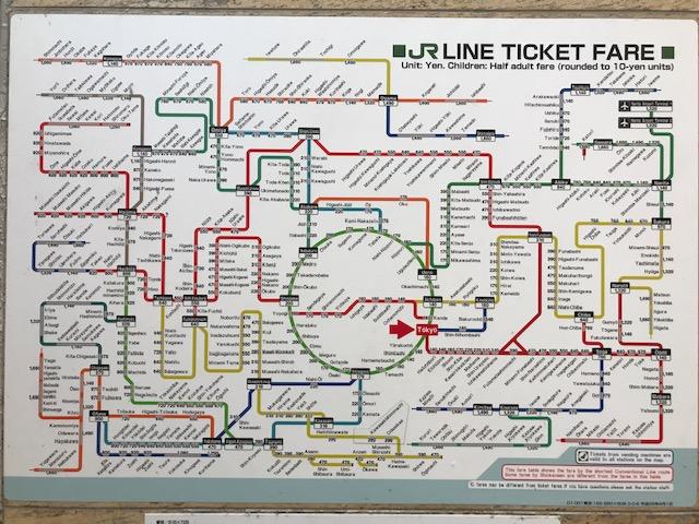 Cómo moverte por el metro de Tokio