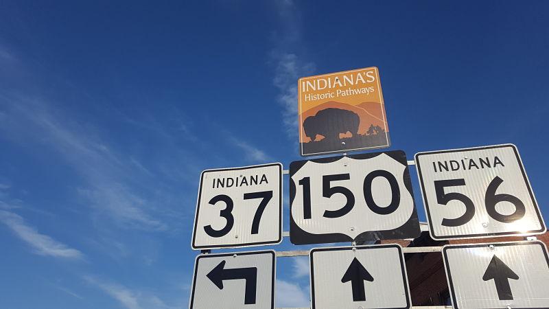 ruta por el midwest de Estados Unidos