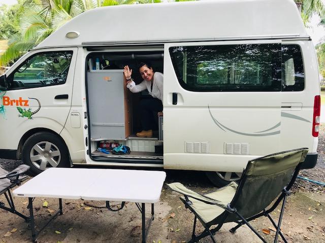 Ruta por Australia entre Cairns y Brisbane