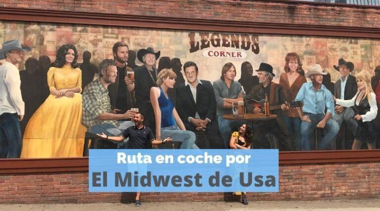 Ruta en coche por el Midwest de Estados Unidos