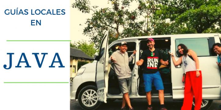GUIAS LOCALES EN INDONESIA. TOUR JAVA