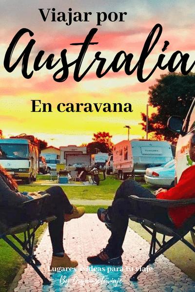 viajar por Australia en furgoneta o caravana