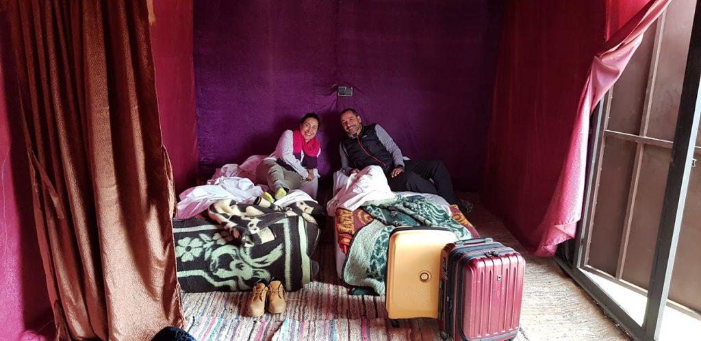 Dormir en el desierto de Merzouga en Marruecos ⭐