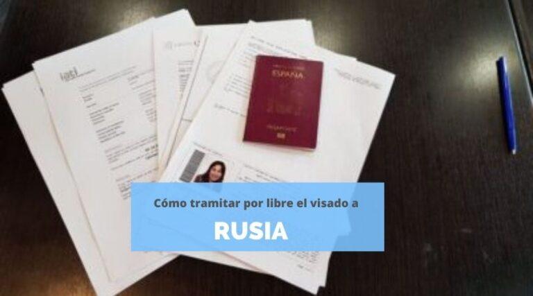Tramitar visado a Rusia por libre