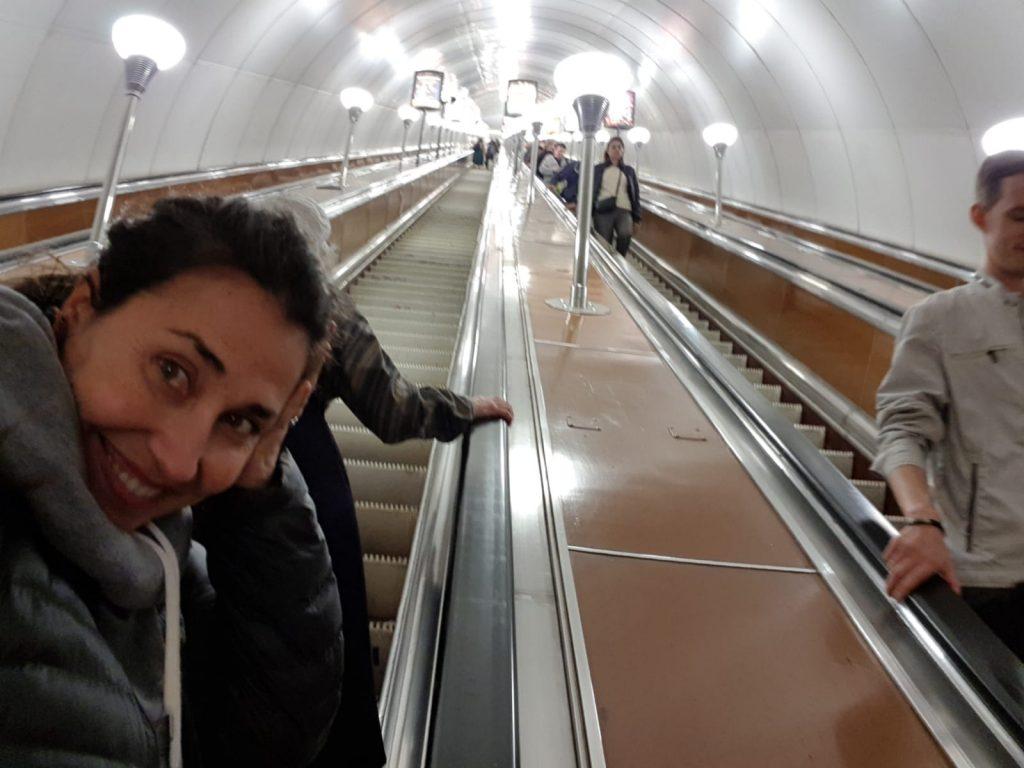 Metro de San Petersburgo, Rusia, by organizotuviaje.com