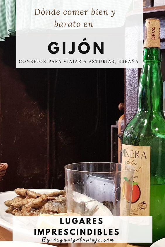 Dónde Comer En Gijón Bien Y Barato Organizotuviaje