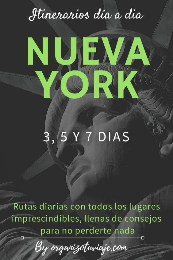 Consejos para viajar a Nuev York en 3, 5 y 7 días