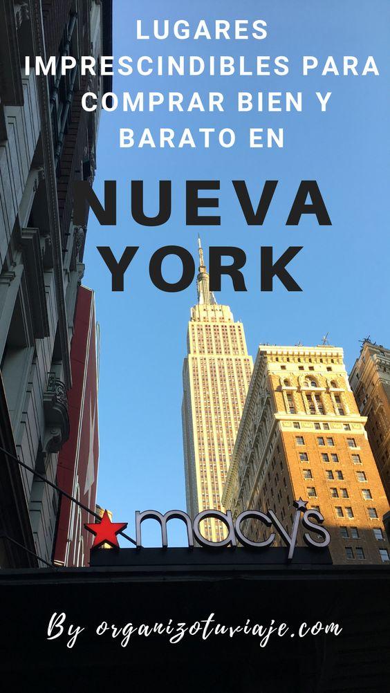 Dónde hacer las mejores compras en Nueva York