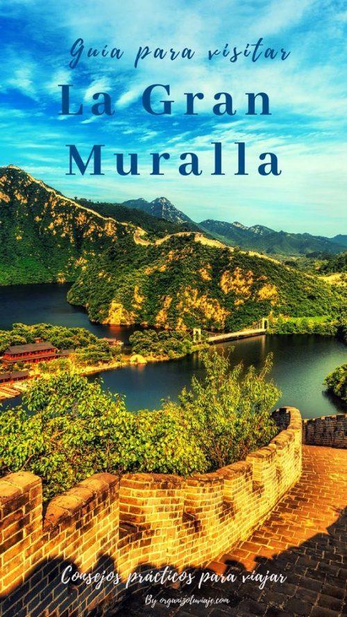 Tour Gran Muralla China en Mutianyu desde Pekín con agencia local 🥇