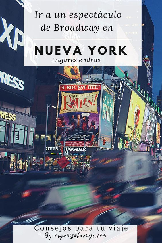Ver un musical de Broadway en Nueva York