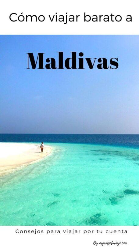 Viajar barato a Maldivas