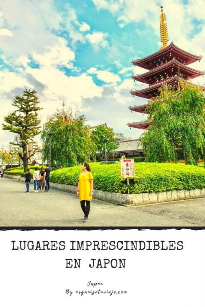 Lugares imprescindibles en Japon