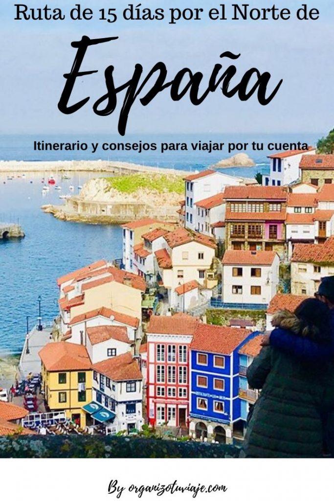ruta de 15 dias por el norte de España