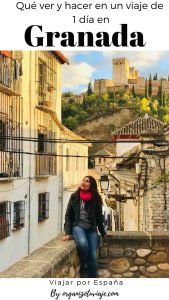 Granada en un día. España, by organizotuviaje.com